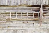 Trä stege — Stockfoto
