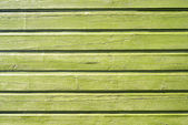 Pared de madera verde — Foto de Stock