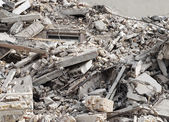 Construction and Demolition Debris — Stock Photo