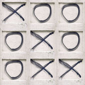 tic-tac-toe game — Stock Photo