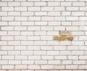 White brick wall background — Stock Photo