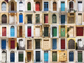 The doors from Malta. — Stock Photo