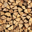 Stok fotoğraf: Pile of wood logs