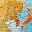 Map of Japand Korea — Stock Photo #23868365