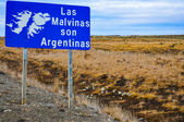 The Falklands are Argentine — Stock Photo