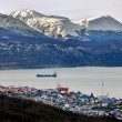 Ushuaia with Mountains — Stock Photo