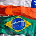 South american flag — Zdjęcie stockowe