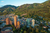 Bogota and the Andes Mountains — Stock Photo