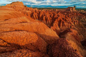 Red Rock Formations of Tatacoa — Stock Photo