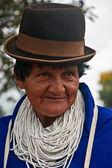 Retrato de uma mulher guambian — Fotografia Stock