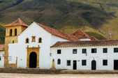Church in Villa de Leyva — Stock Photo