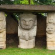 Three Ancient Statues — Stock Photo #13803011