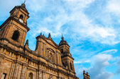 Bogota Cathedral Front — Stock Photo