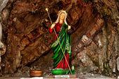 Santa marta-statue — Stockfoto