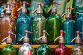 Vintage Soda Bottles — Stock Photo