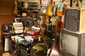 Antique Music Store — Stock Photo