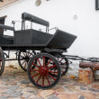 Old Wagon in Colonial Town — Stock Photo #14951401