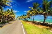 εθνική οδό και την ακτή — Φωτογραφία Αρχείου