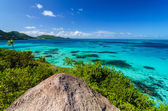 Caribbean Sea View — Stock Photo