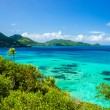 Beautiful Sea and Tropical Island — Stock Photo