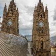 Basilica Towers and Roof — Stock Photo