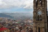 шпиль собора и городского пейзажа — Стоковое фото