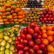 Exotic Fruits in Market — Stock Photo #22185405