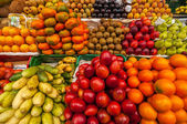 Exotic Fruits in a Market — Stock Photo