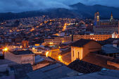 Quito Old Town at Night — Stock Photo
