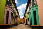 Historic Colorful Buildings — Stock Photo