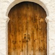 Colonial Church Door — Stock Photo