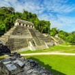 Temples in Palenque — Stock Photo