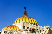 Dome of Palacio de las Bellas Artes — Stock Photo