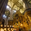 Mexico City Cathedral Interior — Stock Photo