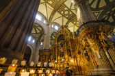 Mexico City Cathedral Interior — Стоковое фото