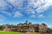 Palenque Palace View — Stock Photo