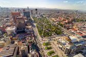 Mexico City Aerial View — Stock Photo