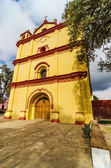 Yellow and Red Church — Stock Photo