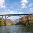 Bridge over Canyon — Stock Photo #24969159