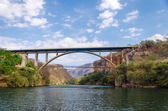 Bridge over a Canyon — Stock Photo
