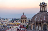 Купол собора и города — Стоковое фото
