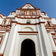 White Church Facade — Stock Photo