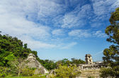 Palenque Temples — Stock Photo