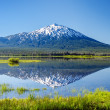 Mount Bachelor Reflection — Stock Photo #27312351