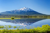 Mount Bachelor Reflection — Stock Photo