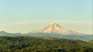 Sunset Time Lapse of Mount Hood — Stock Video