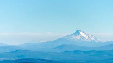Mount Jefferson Time Lapse — Stock Video