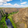 Crooked River Canyon — Stock Photo