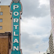 Iconic Portland Sign — Stock Photo