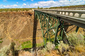 Autostrada abbandonata — Foto Stock
